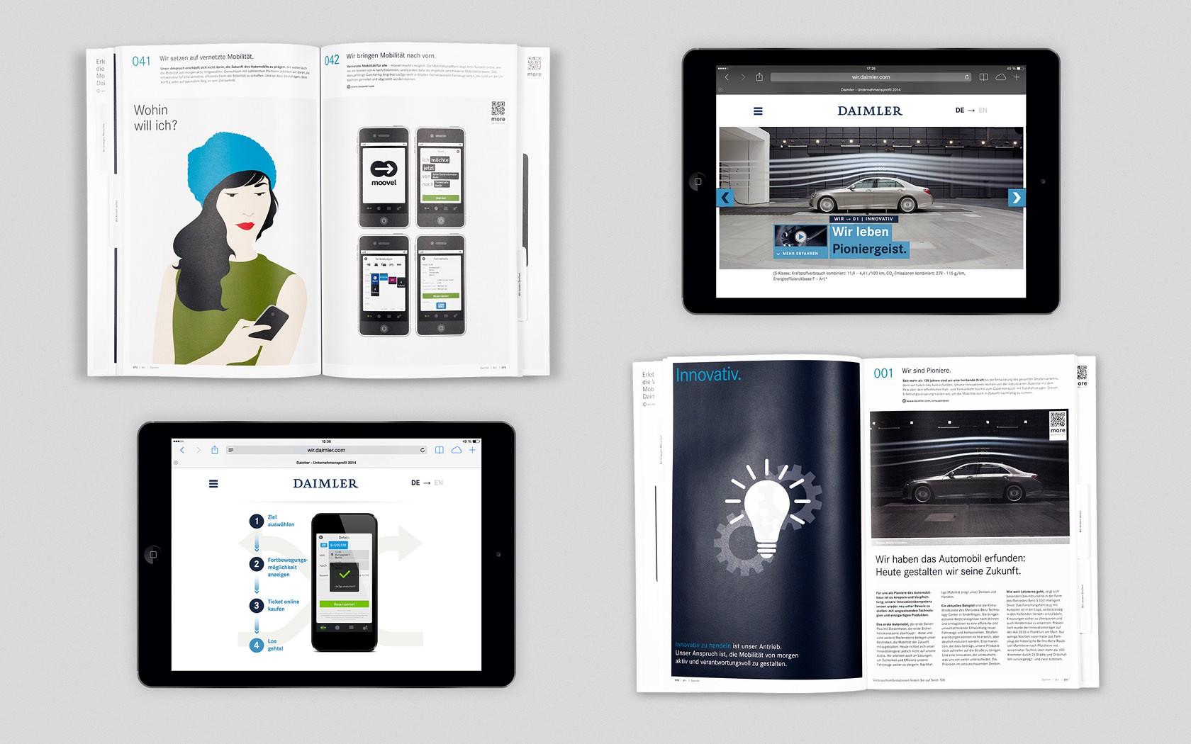 Unternehmensprofil 2014 - STRICHPUNKT DESIGN
